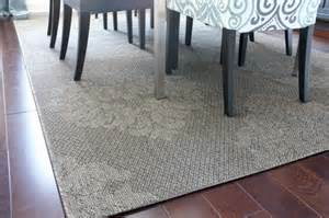 outdoor rug in the dining room of decorating by