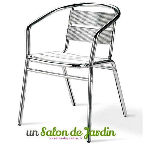 chaise jardin aluminium un salon de jardin 19 04 2018