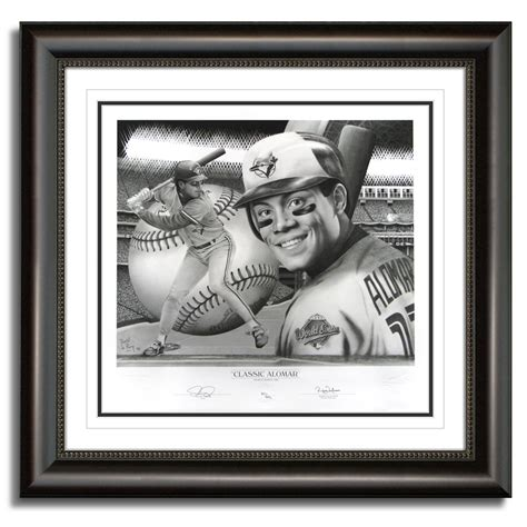 official website for nhl ice effects artist daniel parry roberto alomar autographed fine art print world series