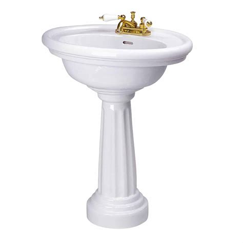Pedestal For Sink by Bathroom Freestanding Pedestal Sink White China Deluxe