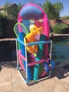 mesh pool toy storage bins  large   hold
