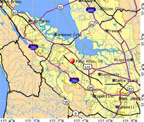 where is palo alto california on a map map of california palo alto deboomfotografie