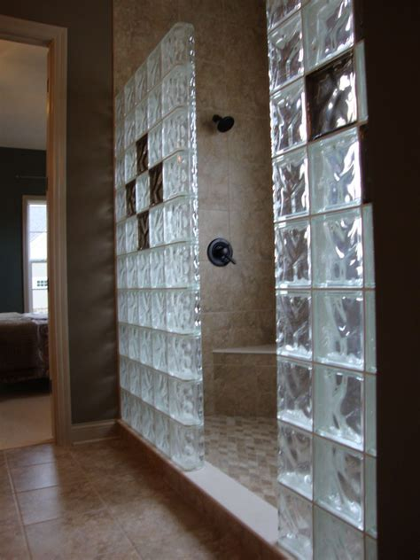 glass block bathroom wall curved glass innovate building solutions blog bathroom