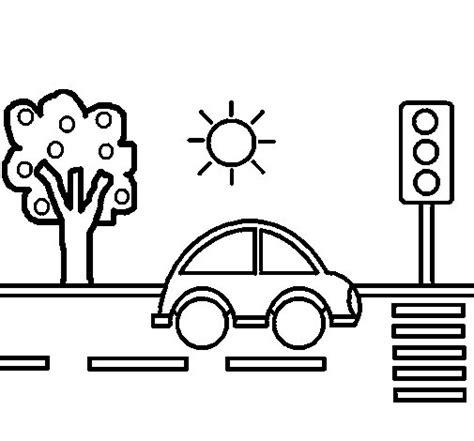ciudad de dibujos para colorear dibujo de coche de ciudad 1 para colorear dibujos net