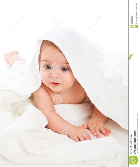 little boy s bathroom little boy in bath towel royalty free stock photo image