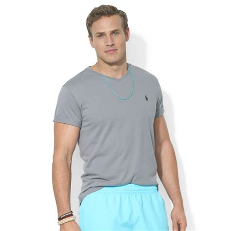 Polo Ralph V Neck T Shirt by Lyst Polo Ralph Polo Big And Classicfit