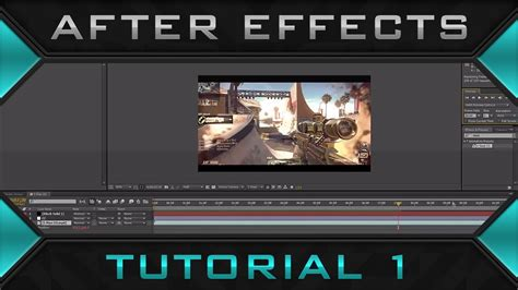 tutorial edit video after effect after effects editing tutorial ep 1 cc black bars