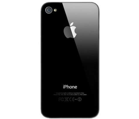Back Cover Iphone 4 Iphone 4 Back Cover Black