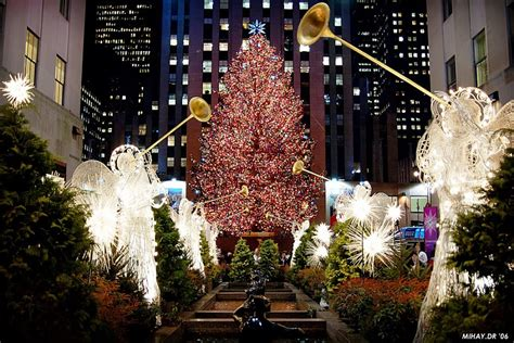 times square in christmas session new york city world