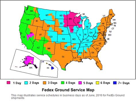 fedex ground map fedex priority pak images frompo
