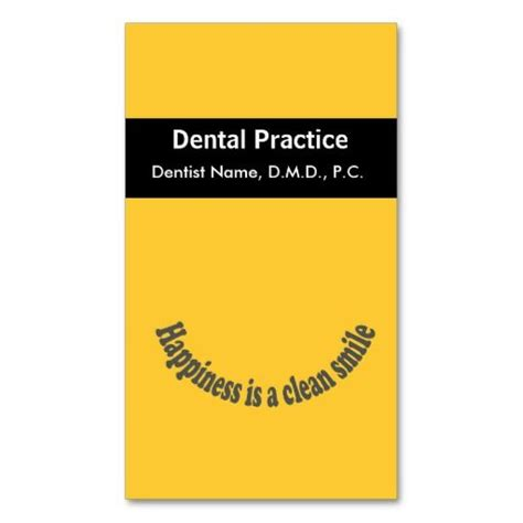 smile templates for cards appointment happiness is a clean smile dentist business