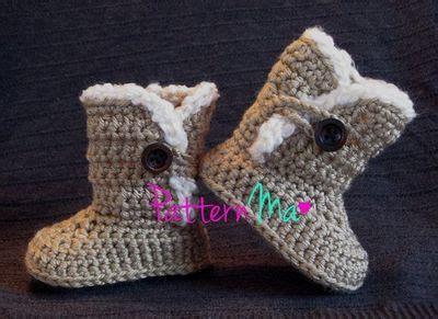 crochet pattern uggs baby boots crochet baby uggs pattern