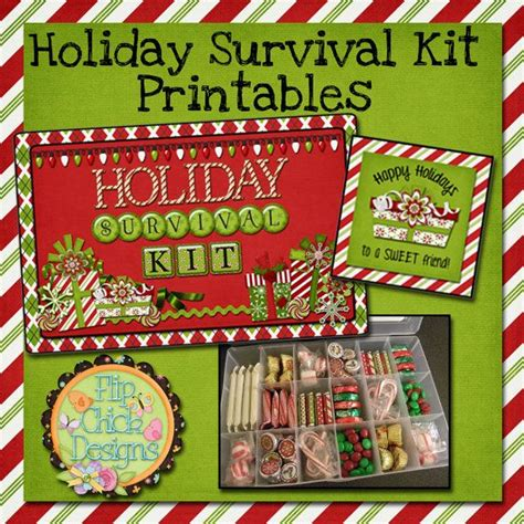 christmas grinch survival kit survival kit survival kit printables by flipchickdesigns on etsy