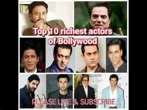 top 10 richest actors 2017 india s top 10 richest actors of 2017 net worth in rupees