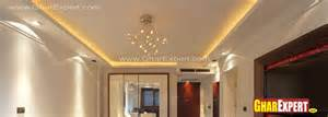 suspended ceiling design with minimal lighting gharexpert