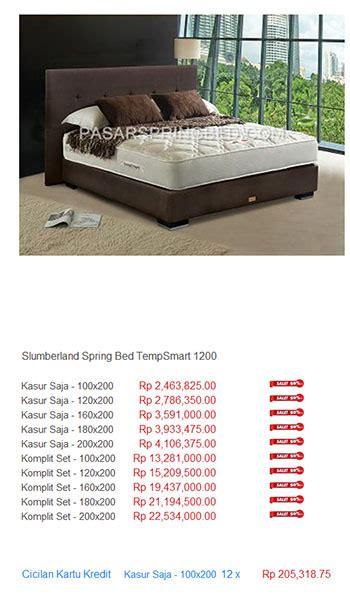 Daftar Kasur Bed American daftar harga bed harga bed termurah di