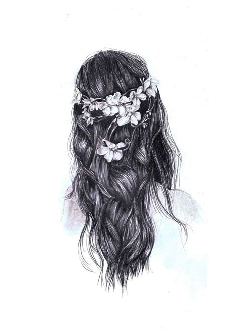sketches of hair beautiful tumblr drawing hipster hair tumblr