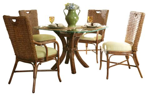 rattan dining set marquesa tropical dining sets
