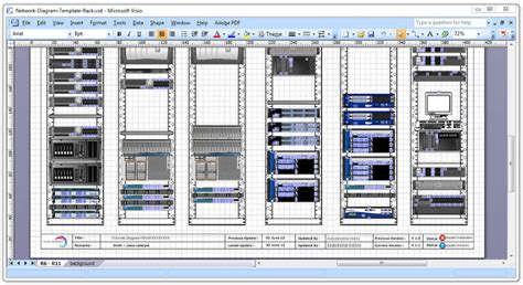 visio rack diagram template network diagram templates cisco networking center