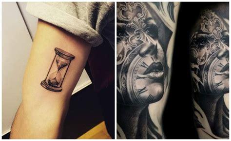 tatuajes de relojes dise 241 os y significados que paran el