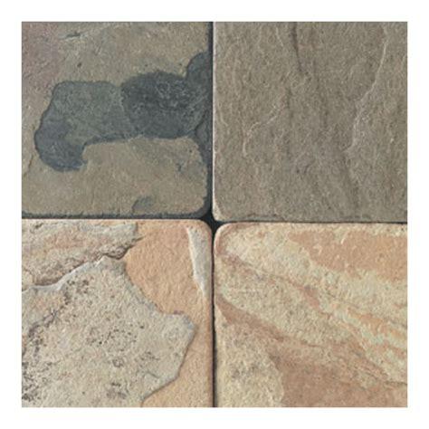 shop american olean 24 pack autumn mist indoor outdoor natural slate floor tile at lowes com