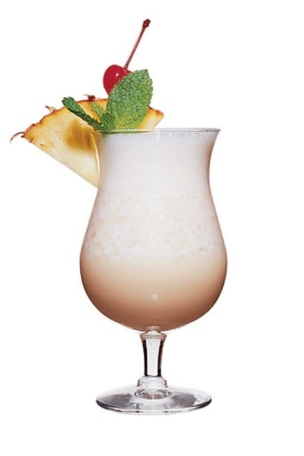 pina colada cocktail caribbean pi 241 a colada cocktail recipe