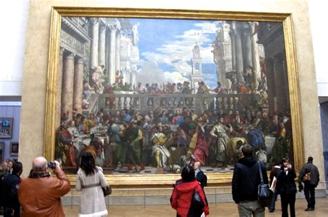 Wedding At Cana Painting In The Louvre by Location Location Location The Wedding Feast At Cana