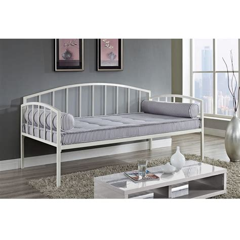 White Metal Daybed White Metal Daybed Caroline White Metal Daybed At Gowfb Ca Fashion Bed Daybeds Day Bed Frames