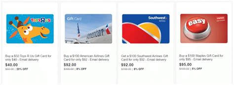 Southwest Gift Card For Sale - ebay gift card sale toys r us 20 southwest american airlines 8 more