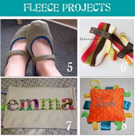 fleece craft projects great fleece ideas sewing