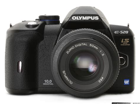 Kamera Olympus E520 by Olympus E 520 Review Digital Photography Review