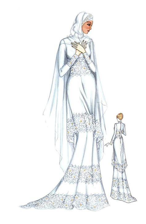 Kebaya Bunga Senada kebaya dan gaun pengantin muslim satin kebaya and pengantin