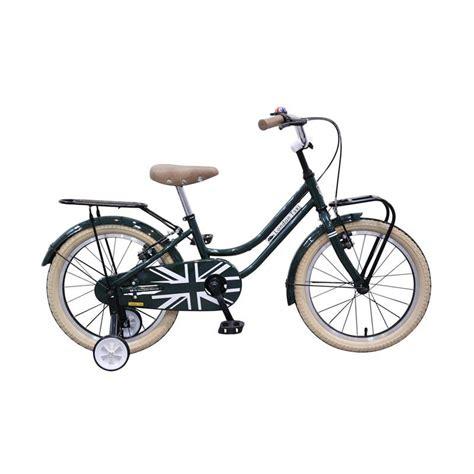blibli free ongkir jual sepeda london taxi kids bike 18inch green free