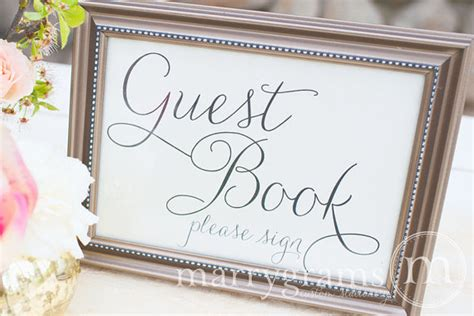 guest book table card sign wedding reception seating signage