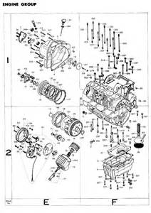 exploded views parts list 4into1 vintage honda motorcycle parts