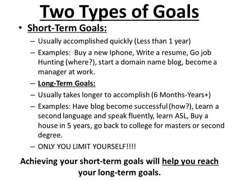 Mba Help In Your Term Term Career Goals by Setting Smart Goals If Goals Aren T Reachable They Aren T