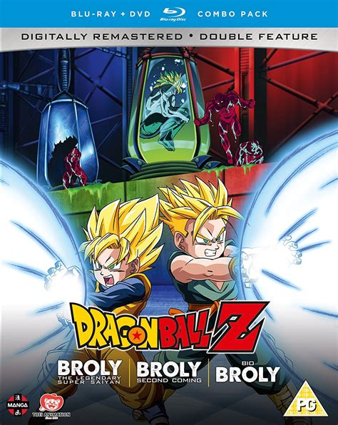 dragon ball collection broly trilogy uk