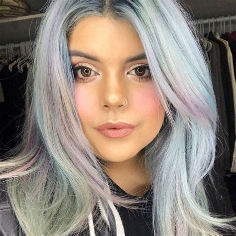 subtle hair color top 10 holographic hair color ideas in 2018 best hair