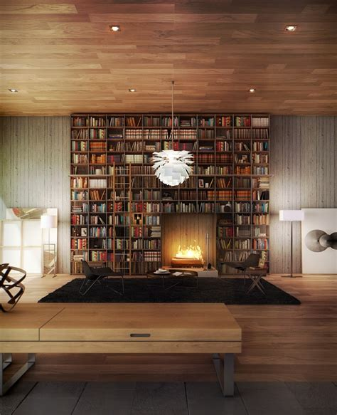 room library home library fireplace awesome building a library inspiration