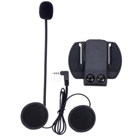 Microphone Earphone & Clip Bracket ONLY Suit for V4 V6