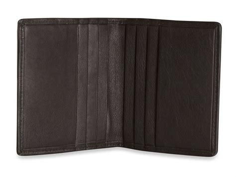 Leather Credit Card Holder Template Brunhide Soft Real Leather Credit Card Holder Wallet Business Id Genuine 201 300 Ebay