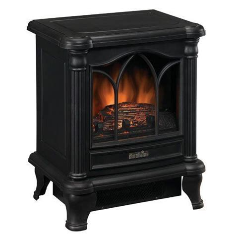 Electric Fireplace Heater Energy Efficient by Duraflame 18 Quot Stove Heater Energy Efficient Vent Free