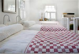 bedrooms with beautiful handmade quilts the artists house
