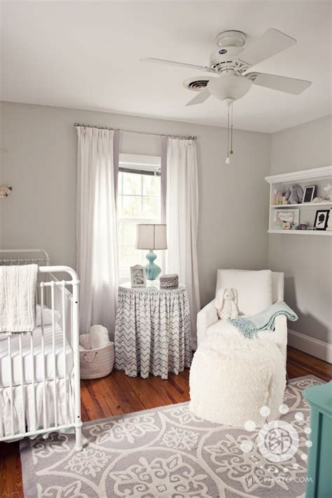 Neutral Nursery Curtains Grey And White Neutral Nursery White Nursery Turquoise And Gender Neutral