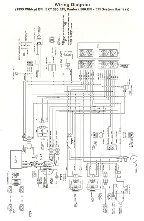 yamaha snowmobile diagrams wiring diagram and fuse box