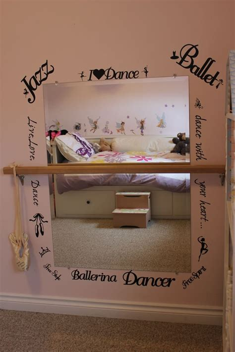 dance themed bedroom ballerina nursery wall art ballet room mirrors bedroom
