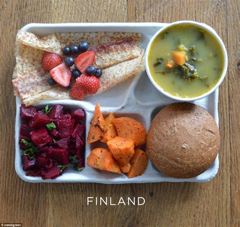 photos of school lunches served around the world reveal how meager america s meals are daily