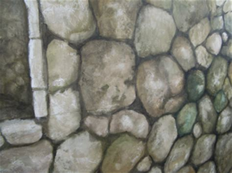 faux rock painting residential and commercial murals by guare paint and