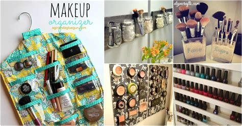 organization solutions 21 diy makeup organizing solutions that ll change your whole beauty regimen diy crafts