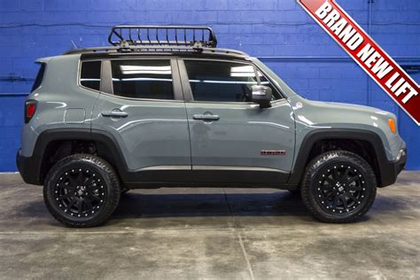 Jeep Renegade Trailhawk Lifted Imgkid Com The